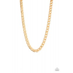 Paparazzi Omega - Gold -...